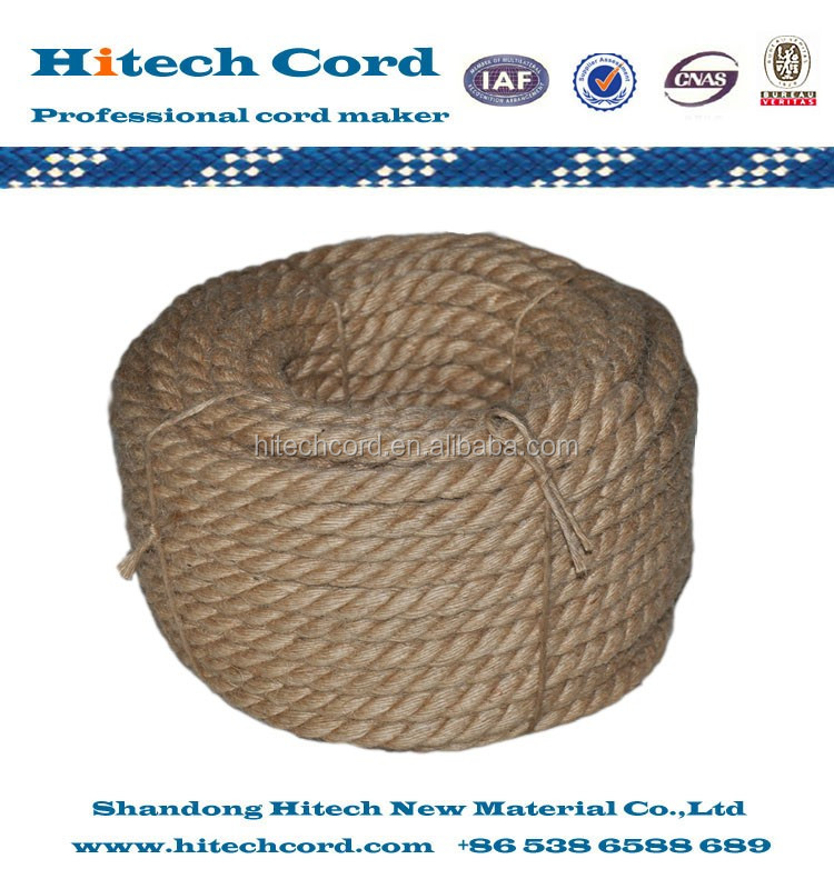 twisted jute coil