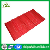 economic energy-saving professional corrugated stable dimension red building roof sheet for workshop