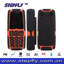 1.77 inch MTK6250 Dual core 2G Bluetooth Shockproof Mobile Phone