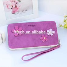 New design leather wallet case/mobile phone bag cases/cell phone bag for apple iphone & samsung
