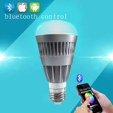 new hot selling products,Bluetooth RGBW e27 7w rgbw smart led bulb 550 lumens wi-fi control