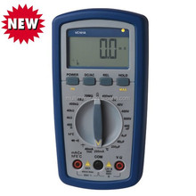 Rechargeable Self-Restoring LCD Digital Multimeter With Frequency/Capacitance/Temperature/Galvanometer Function VC101A