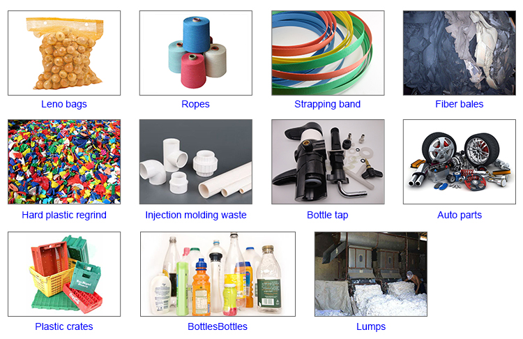 Haisi экструзии pp pe ABS PET nylon утилизации пластиковых отходов цена
