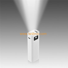 Emergency lighting power banks portable universal LED strong flashlight power bank
