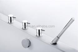 2015 Deck mounted 4 hole bath filler