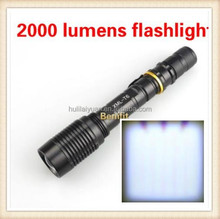 Hot Sale t6 flashlight manufacturer TOP Quality Aluminum High Power LED Torch Light