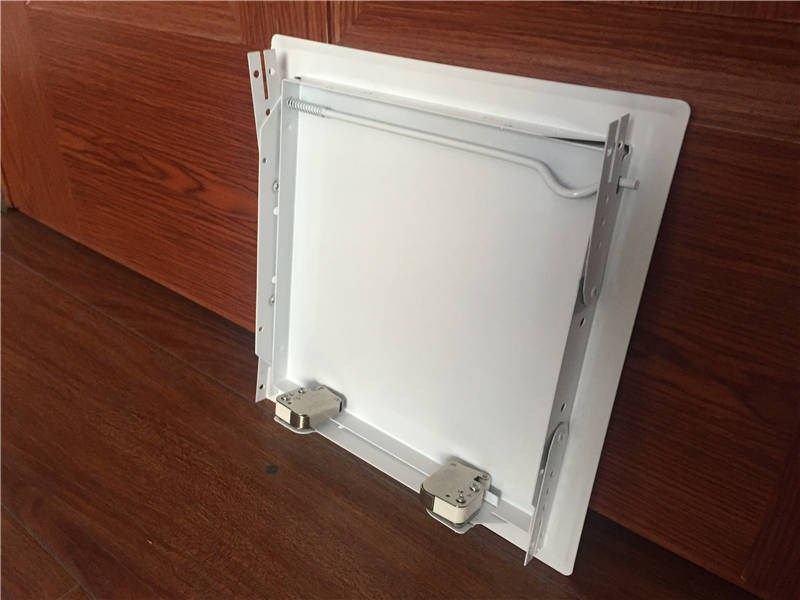 Locking Access Doors And Panels : Softline click lock access panel ss ap view