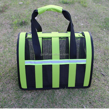 Factory Price Breathable Portable Nylon Mesh Dog Carrier