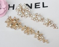 2015 New crystal rhinestone women earrings fashion earrings EH1452 latest created diamond earrings