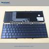 Genuine Laptop keyboard for ASUS TF201 Latin black keys chocolate brown topcase