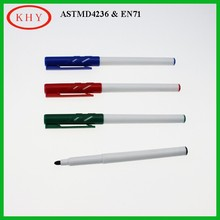 2015 New product colored lips dry erase marker pen