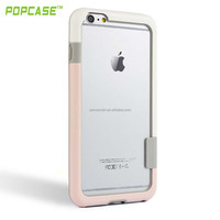 10 Colors No-slip Scratch-Resistant Transparent Crystal Clear Thin Slim Case Cover Skin Bumper for iphone 6plus case