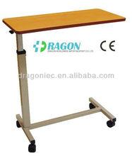 DW-OB001 hospital utensilsl Over Bed Table medical equipment