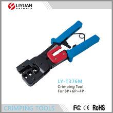 LY-T376M 8P+6P+4P RJ11 RJ45 Network Lan Cable Crimping Tool Crimper Cutter Crimp Tool