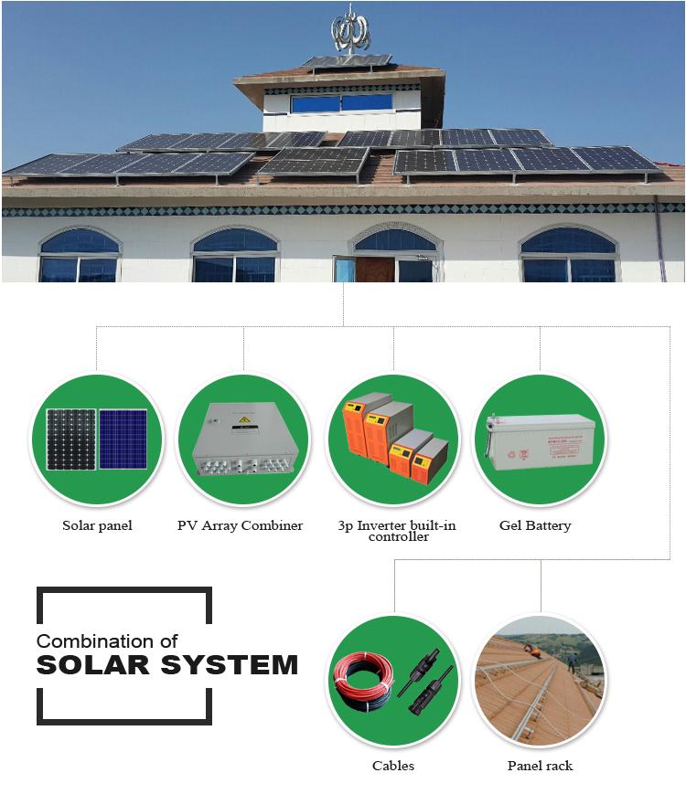 Bateria De Armazenamento De Energia Solar 10kw 5kw 6kw