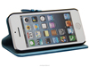View window case for iphone 5c /Smart leather case for iphone
