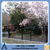 hot sale wrought iron fence cheap,wrought iron fence finials,wrought iron fence parts