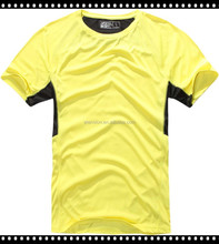 The popular new style wholesale round neck basketball 100%polyester different types of fabric t shirt
