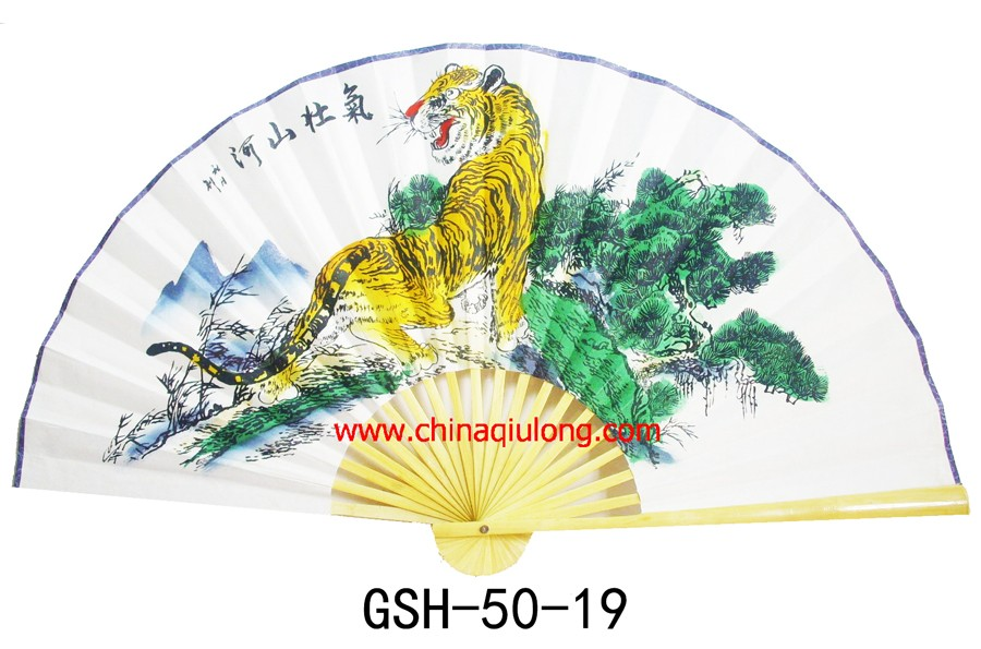 Chinese Large Size Hand Fans For Home Decoration Chinese Big Fan For ...