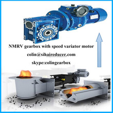RV worm gearbox speed variator with dc motor transmission mechanical in industrial
