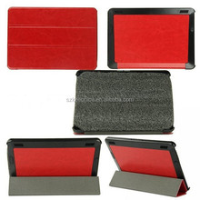 for Amazon Kindle Fire HD Case, Tri-folded Style Side Flip Stand PC+PU Leather Case for Amazon Kindle Fire HD 7
