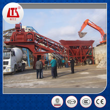 Hongda Mobile Travelling Concrete Batching Mixer Plant YHZS60 60M3/H ISO9001/BVApproved