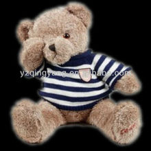 hot selling plush toys with T-shirt teddy bear