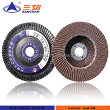 Abrasive Flap Disc Grinding Stainless Steel Rust