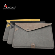 Envelope case fabric phone laptop case for ipad