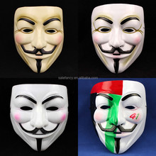 Halloween v for vendetta mask party face mask QMAK-1572