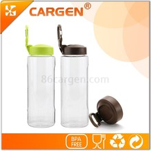 Convenient to carry outdoor hiking bottle portable carabiner sport water bottle