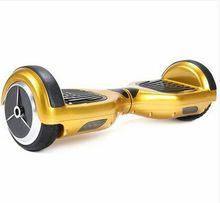 Cheap 2015 2 wheel electric scooter self balancing with LED light and Max Speed 12km/h scooter electric hands free scooter