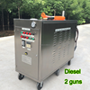 20L diesel tank mobile car steam cleaning machine