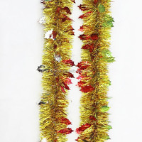 PET/PVC christmas railing decorations peanuts outdoor christmas decorations movable christmas decorations