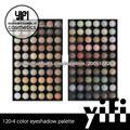 Cosmética natural! 120-4 Paleta de maquillar los ojos maquillaje compone el kit