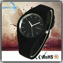 Fashionable new colorful strap watch silicones all colors