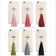 New Model Fashion fancy tassel phone case wholesale fast shipping