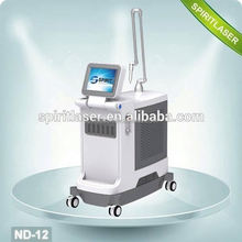 Big Movable Screen Powerful Active Q-switch nd yag laser for tattoo removal and eyeline Single Pulse 800mj