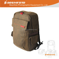 New Design Professional Canvas Camera Bag Photo Backpack for dslr camera and accessories