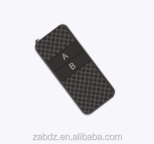2 buttons 500M hot sale new design wireless rf transmitter (ZY100-2)