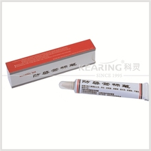 Kearing brand yellow color fabric toothpaste Textile Marker,dye resist textile pen marking#TM25-Y