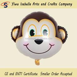 Good new monkey 63*56cm cartoon mylar balloons