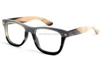 famous design handmade buffalo horn glasses frames China wholesaler