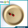 wheat straw pulp unbleached microwavable disposable plates
