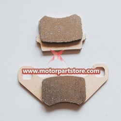 The brake pads for the 50CC to 250CC