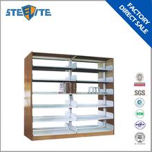 metal bookshelf/library book shelf/design in book shelf cabinet