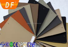 Flame retardant abrasion-resistant pvc leather material for car seats auto upholstery materials