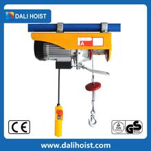 Electric 3 Phase Motor Hoist Wireless Remote Control Lifting Equipment Portable Mini Electric Hoist