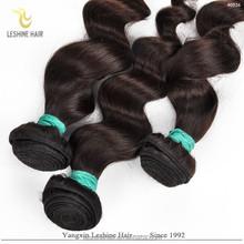 Factory Wholesale No Tangling No Shedding Natural Unprocessed humane hair loose wave