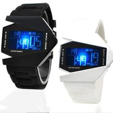 Wholesale Silicone Many Colors To Chooze Airplane LED Watches